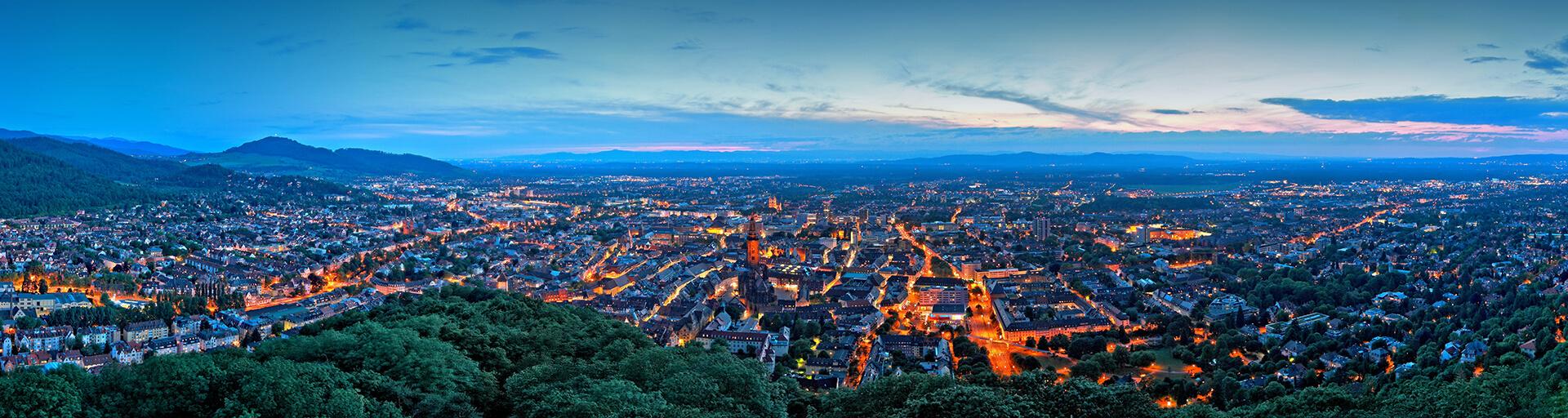 Panorama Freiburg