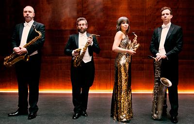 Raschèr Saxophone Quartet – Benefizkonzert