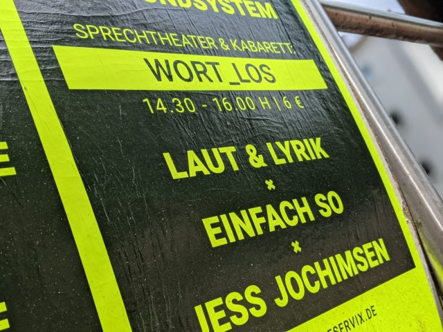 IGS@Kultur_Los! Festival – Wort_Los! – Sprechtheater & Kabarett
