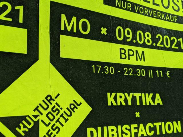 IGS@Kultur_Los! Festival – BPM – Dub & DnB
