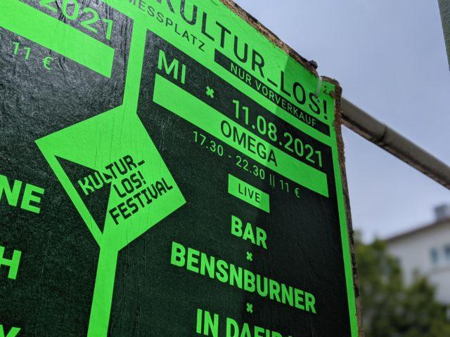 IGS@Kultur_Los! Festival – OMEGA – Weird & Noise